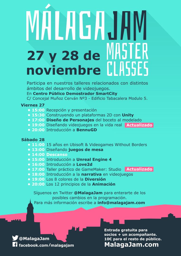 master classes videojuegos