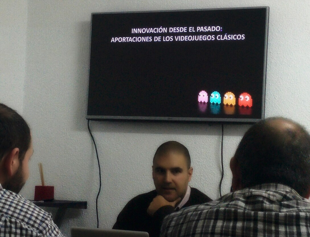 charla videojuegos granada