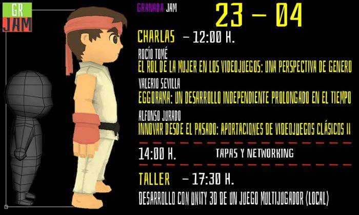 charla y taller de videojuegos granada