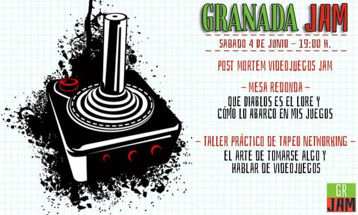 asociacion videojuegos granada jam talleres